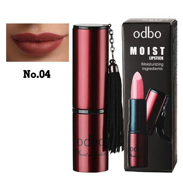 ODBO Moist Lipstick Moisturizing ingredient Code 04