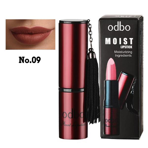 ODBO Moist Lipstick Moisturizing ingredient Code 09