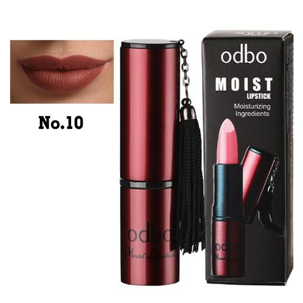 ODBO Moist Lipstick Moisturizing ingredient Code 10