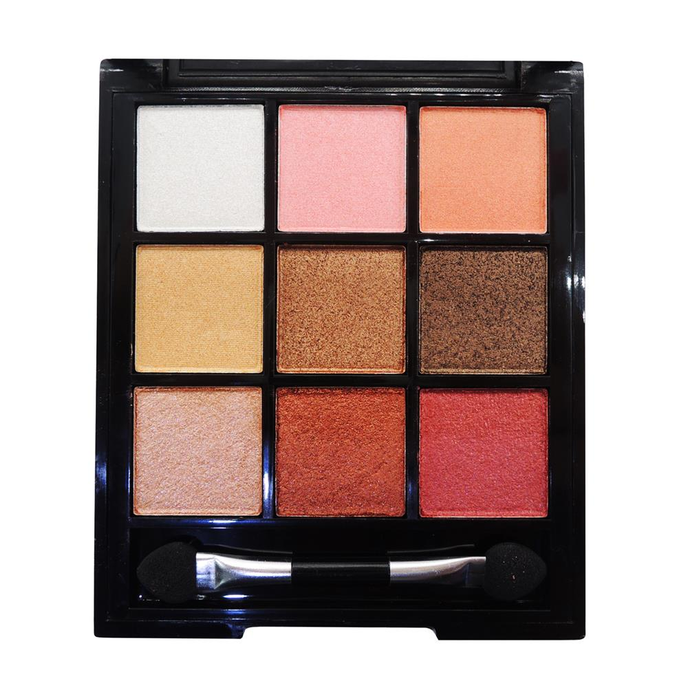 ODBO Square Eyeshadow Palette With 9 Color Eyeshadow Code 08