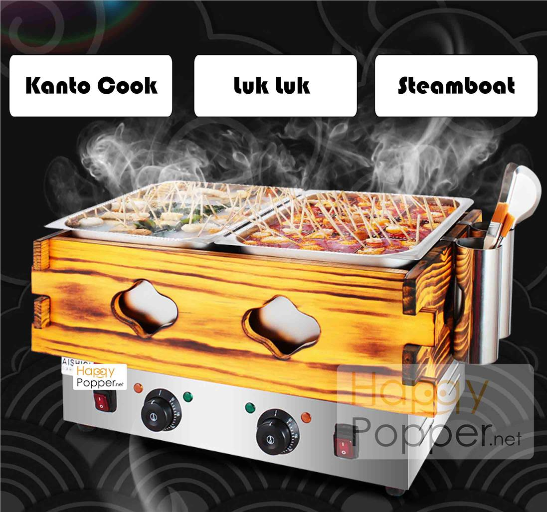 oden machine double kanto machine cooking machine snack cooking pot do