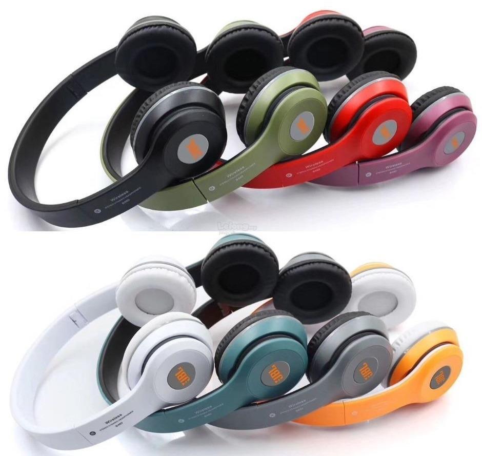 d12bc7d51fd (OEM) JBL By Harman Metal Super Bass Wireless Bluetooth Stereo Headpho
