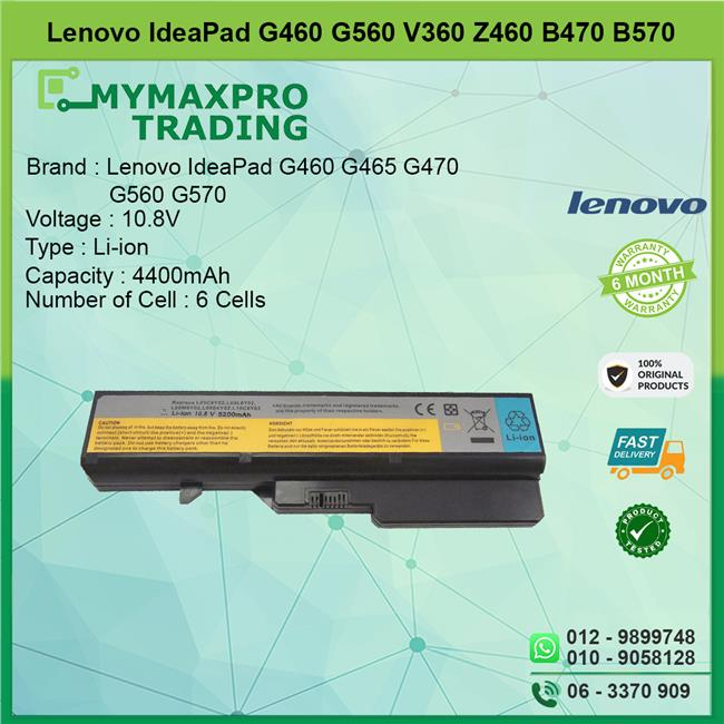 OEM Lenovo Ideapad G460 G560 V360 Z460 B470 B570 battery