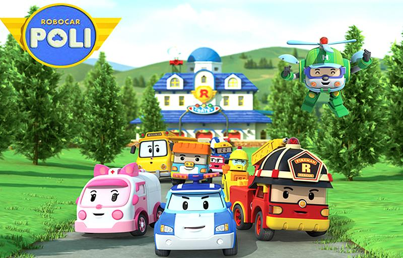 Offer 1 set 4pcs robocar poli r end 7 16 2016 12 15 pm - Robot car polly ...