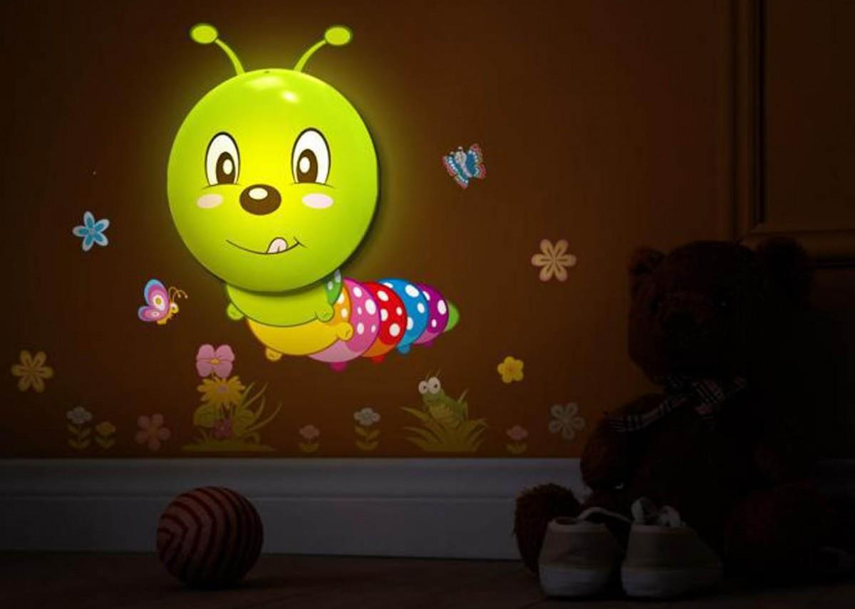 Offer baby sensor led night lights d end 9222017 444 pm offer baby sensor led night lights diy wall stickers caterpillar mozeypictures Images