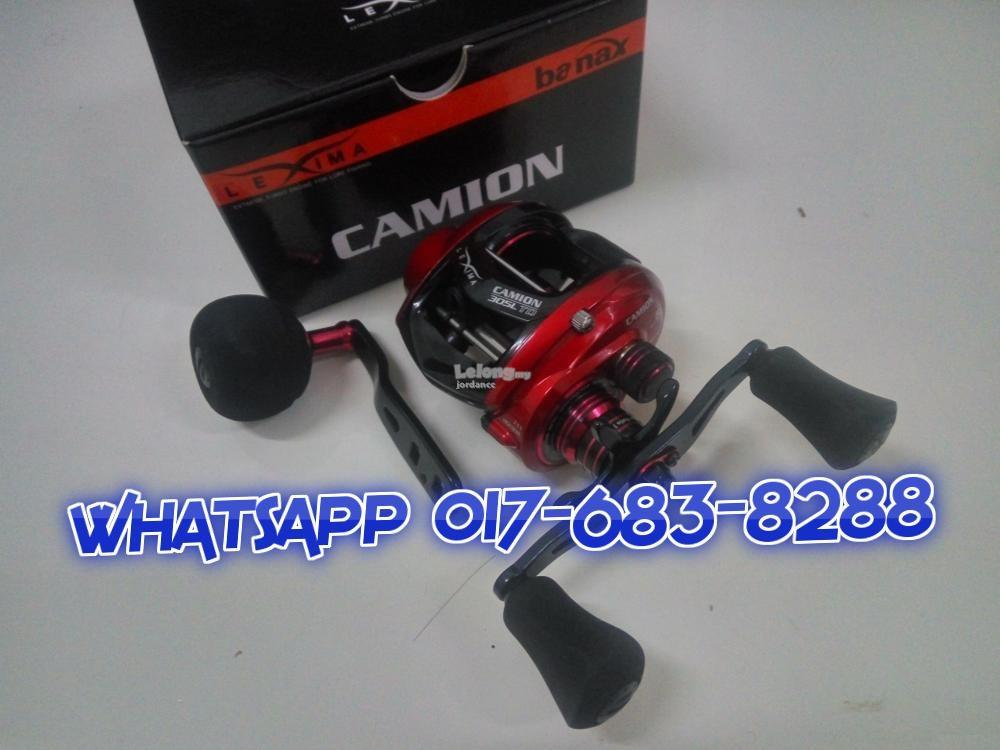 OFFER !!! BANAX CAMION 305L TD Fishing Jigging Casting Reel ( NEW )