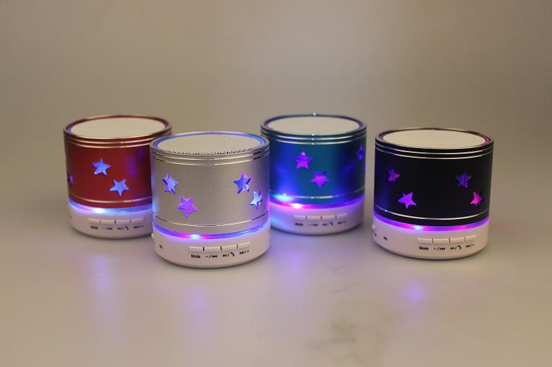 Offer! Built-in Colorful Lights Mini Bluetooth Speaker