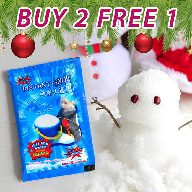 [OFFER] Christmas Magic Instant Snow - Let Fun with Olaf Snowman!