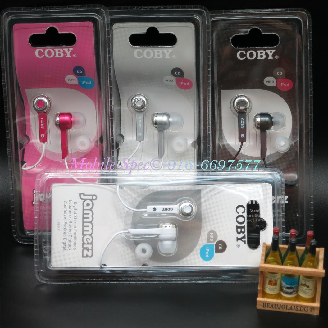 OFFER~ Coby Wired In-Ear Headphone Earphone 3.5mm Apple Android