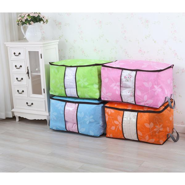 Offer - New Design Bamboo charcoal colorful clothing storage box