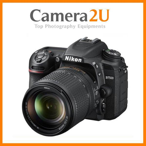 OFFER Nikon D7500 18-140mm Lens DSLR Camera + 16GB+Bag (Import)