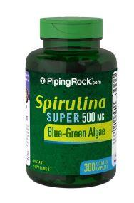 OFFER!! Piping Rock, Spirulina, 500 mg, Immune Support (300 Tablets)