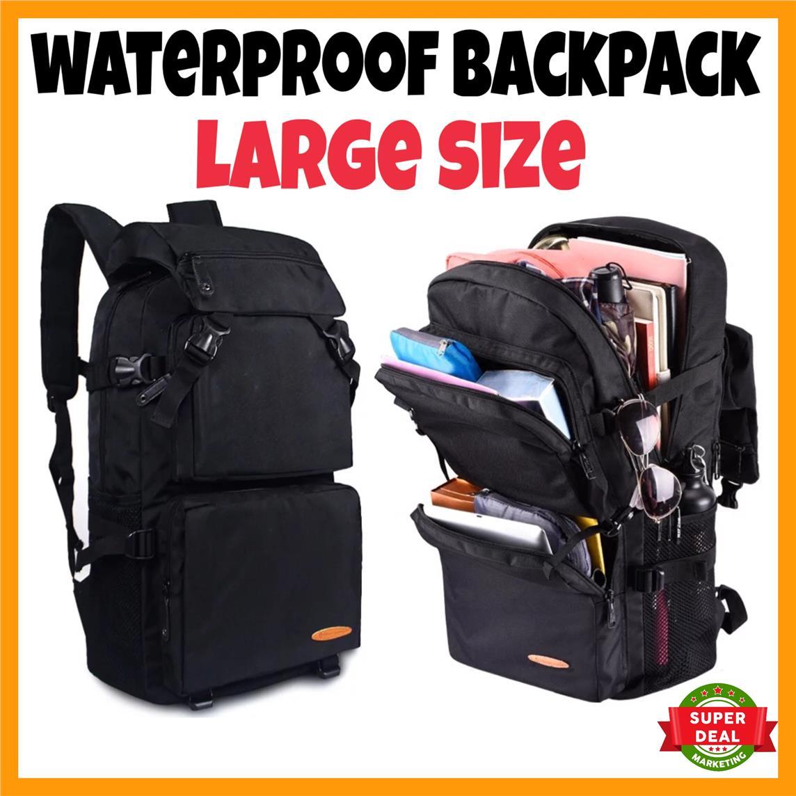 Offer Waterproof Large Laptop Bag School Backpack Shoulder