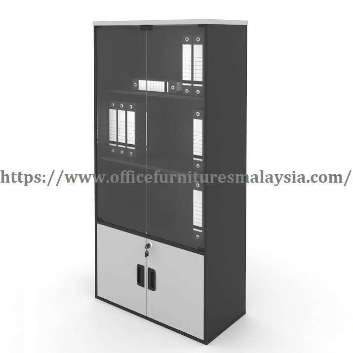 Subang Jaya Kitchen Cabinet: Office Cabinet With Glass Doors OFG (end 7/15/2020 12:15 PM