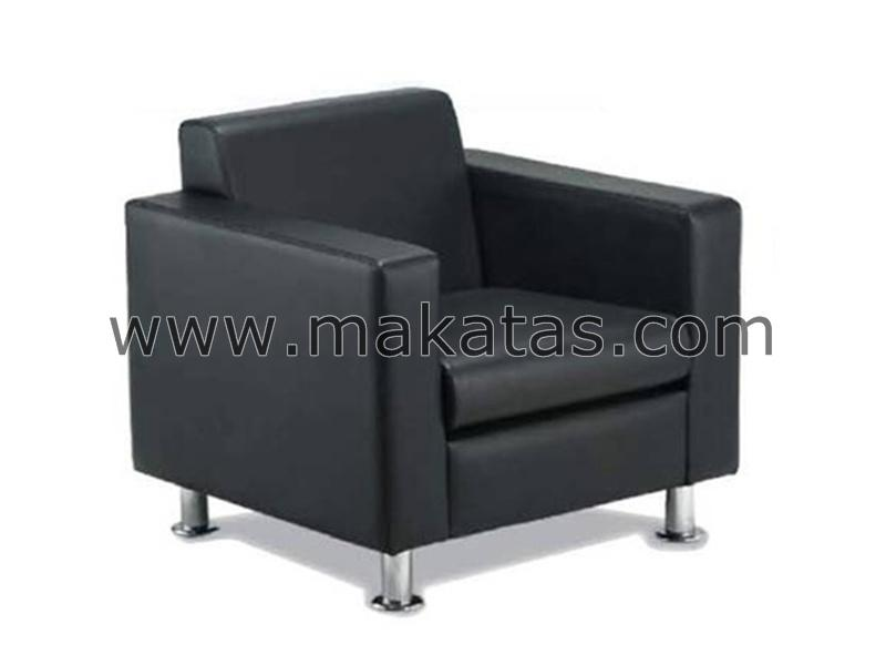 Office Chair |Kerusi|Makatas Tivo Single Seater Sofa Full Leather
