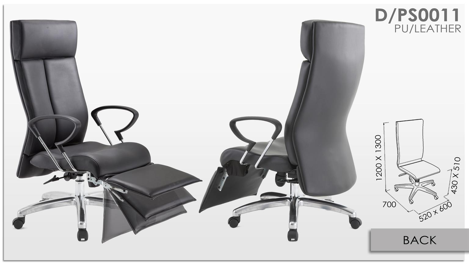 Office Chair /Presidential Chair 0011 (HIGHBACK)
