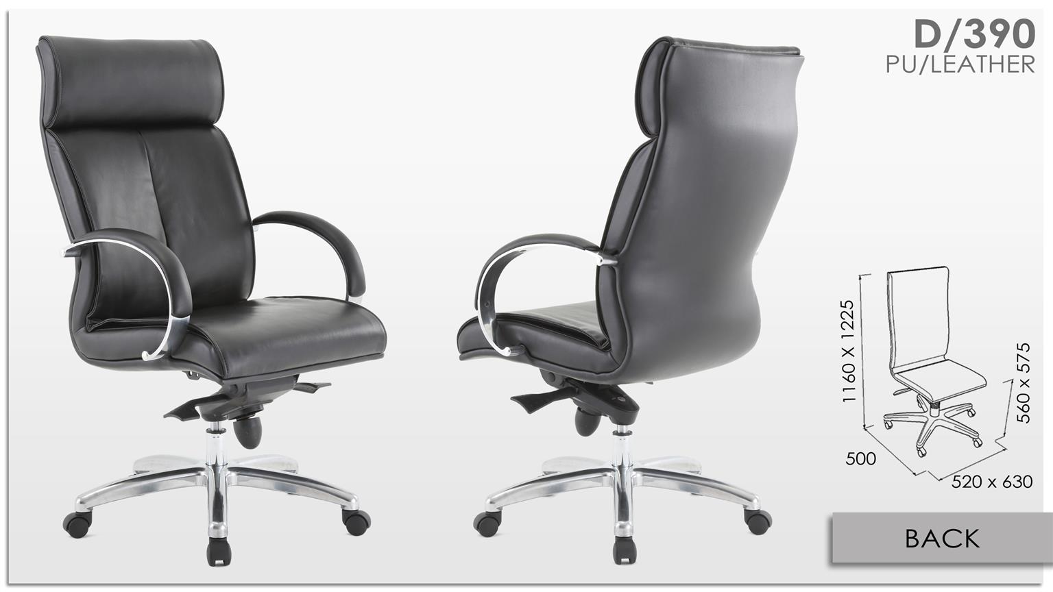 Awesome Office Chair /Presidential Chair 390 (HIGHBACK)
