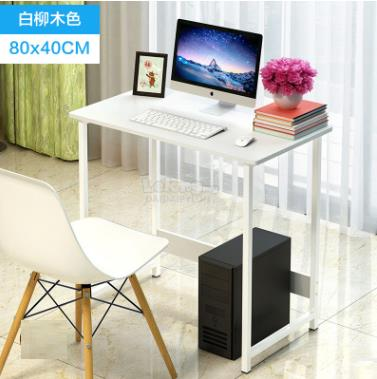 Office Computer Laptop Wooden Desk Study Table Meja Book Home House