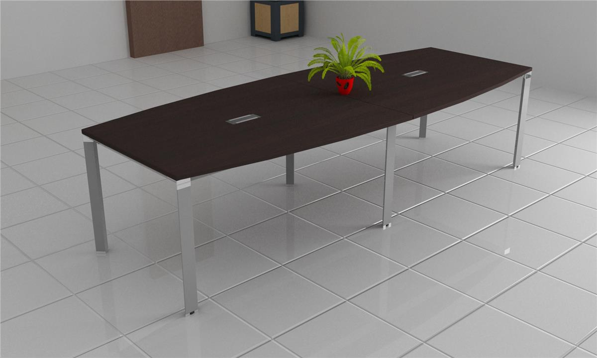 Office Conference Meeting Table with Flip Cover