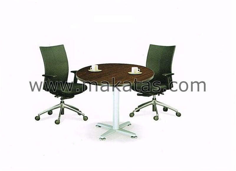 Office Conference Table|Meja Pejabat|Makatas Round Conference Table