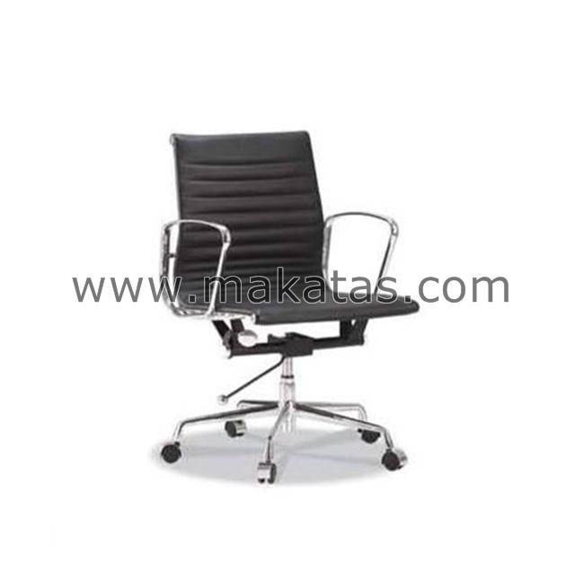 Office Executive Chair|Makatas Presidential Low Back Half Leather
