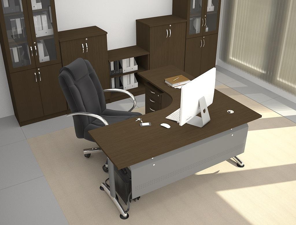 Office Executive Table Desk Set PLT1818 Furniture Malaysia Balakong KL