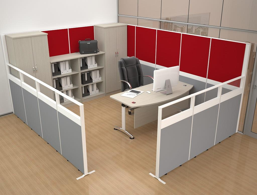 Office Furniture Cubicle Workstations OFM60MC Cheras Ampang Puchong KL