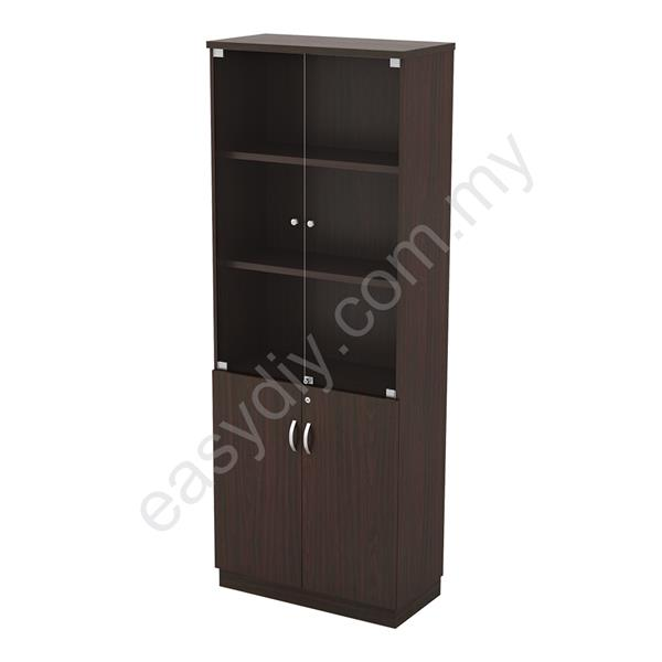 Office Furniture / Full High Glass Door Cabinet - Q-YGD 21