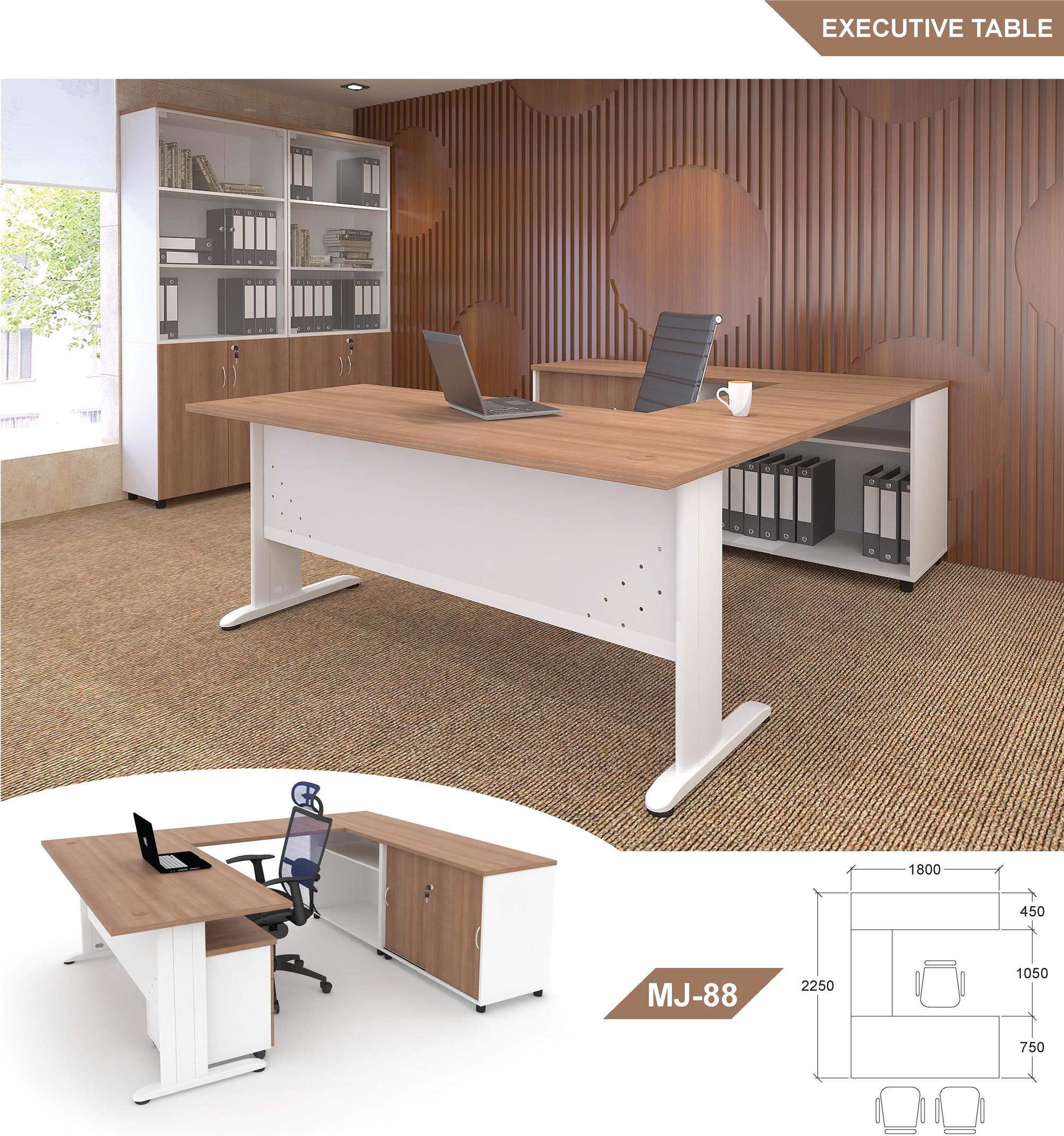 Office Furniture / Office Table / Executive Table MJ-88 (R)