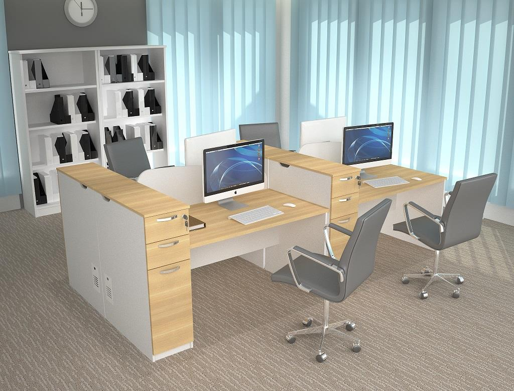 Office furniture panel dividers works end pm