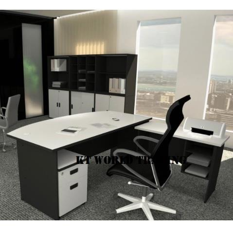 Office Furniture Set c/w table & side table & Pedestal KT-A180A