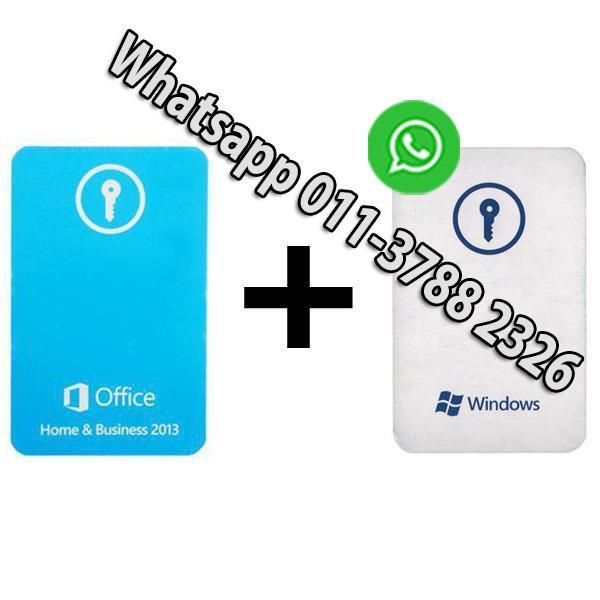 Office Home & Business 2013 KeyCard (end 5/25/2019 9:15 AM)