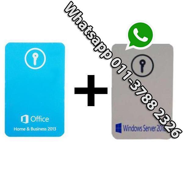 Office Home & Business 2013 KeyCard (end 7/20/2019 11:15 AM)