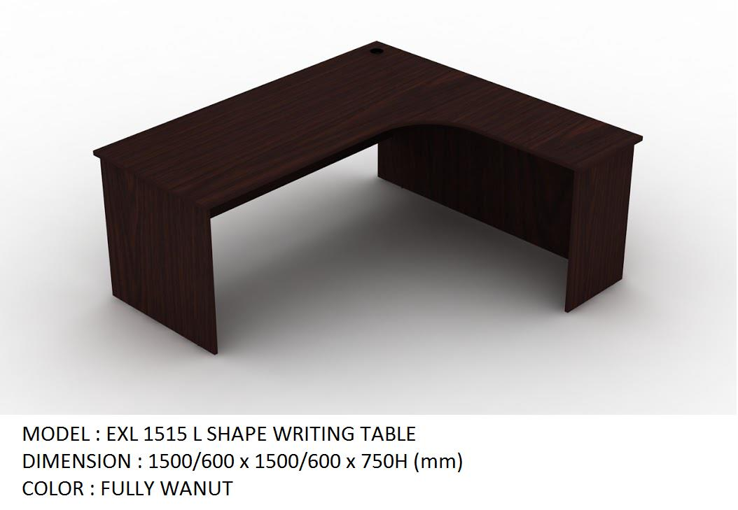 l shape office table. OFFICE L-SHAPE TABLE 1500/600 X 750 H L Shape Office Table C