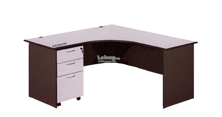 Office L-Shape Table Set Package Q1026