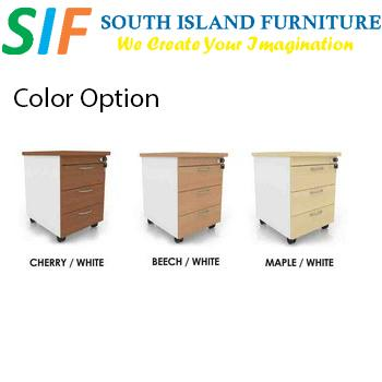 Office Mobile Pedestal 3 Drawer 3MPW