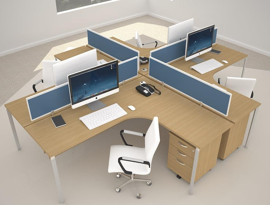 Office partition cubicle workstations end 1 4 2019 4 15 pm for Woodworks design office 9