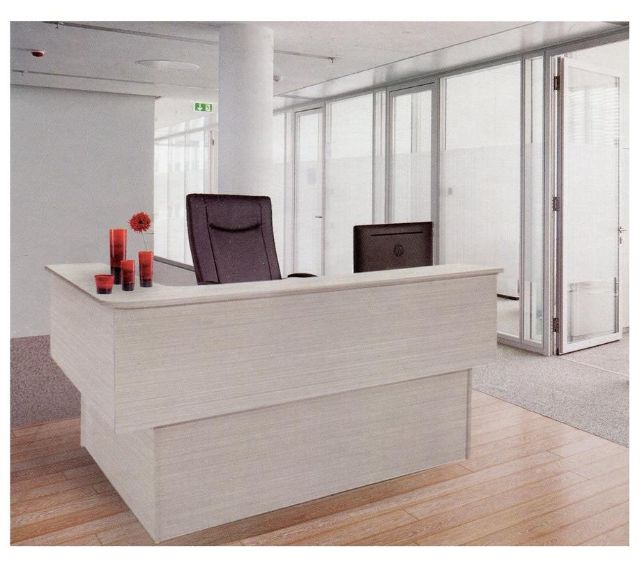 Office reception counter table desk end 12 11 2018 3 15 pm for Bureau reception