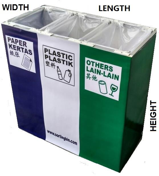 Office Recycling Bin