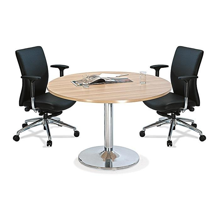 Office Small Round Meeting Table OF End PM - Small round meeting table and chairs