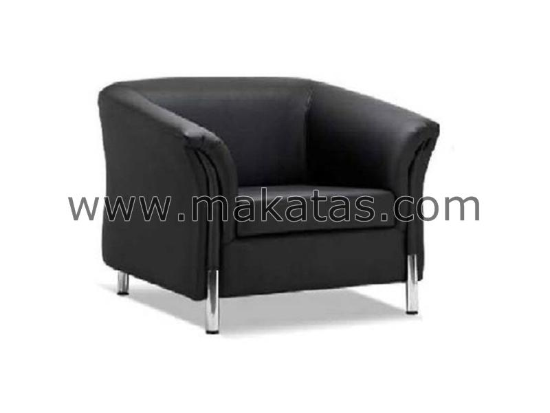 Office Sofa|Sofa|Makatas Berlington Single Seater Sofa Full Leather