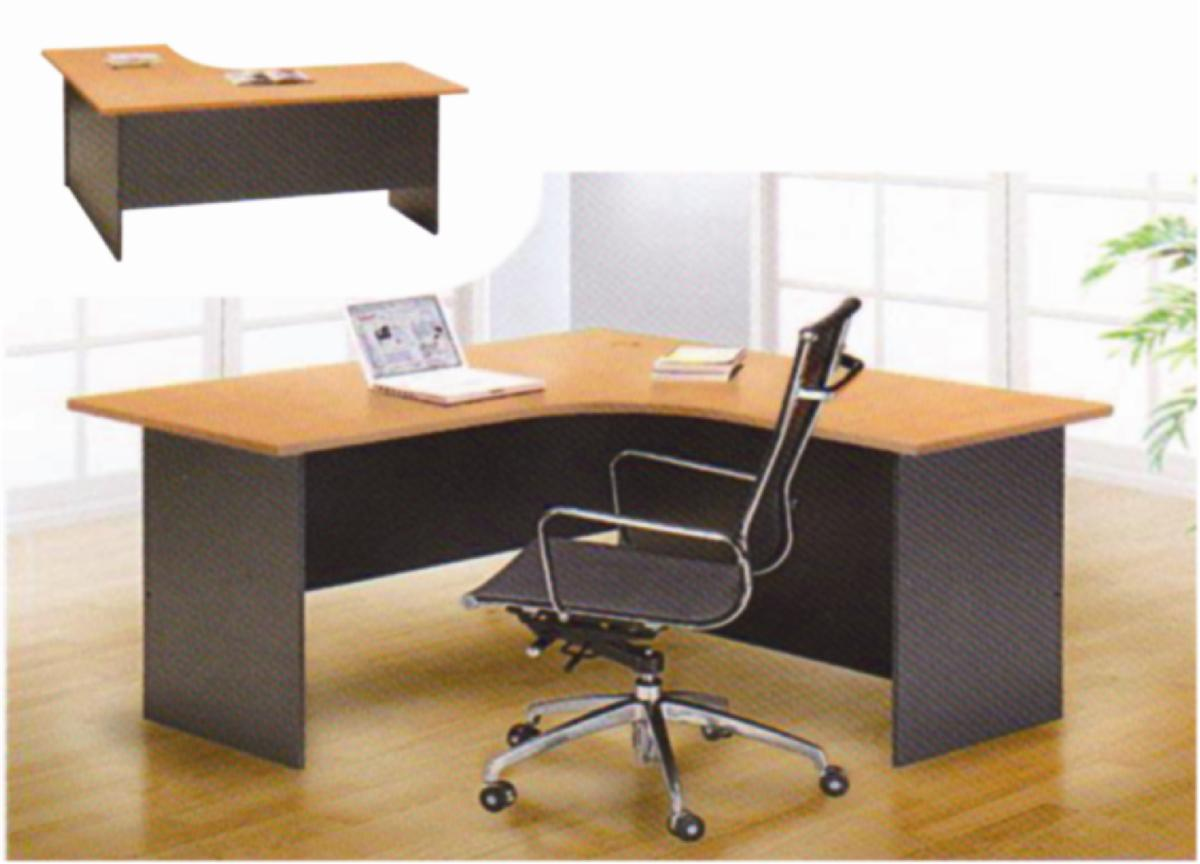 Office Table L Shape L R End PM - 4 feet office table