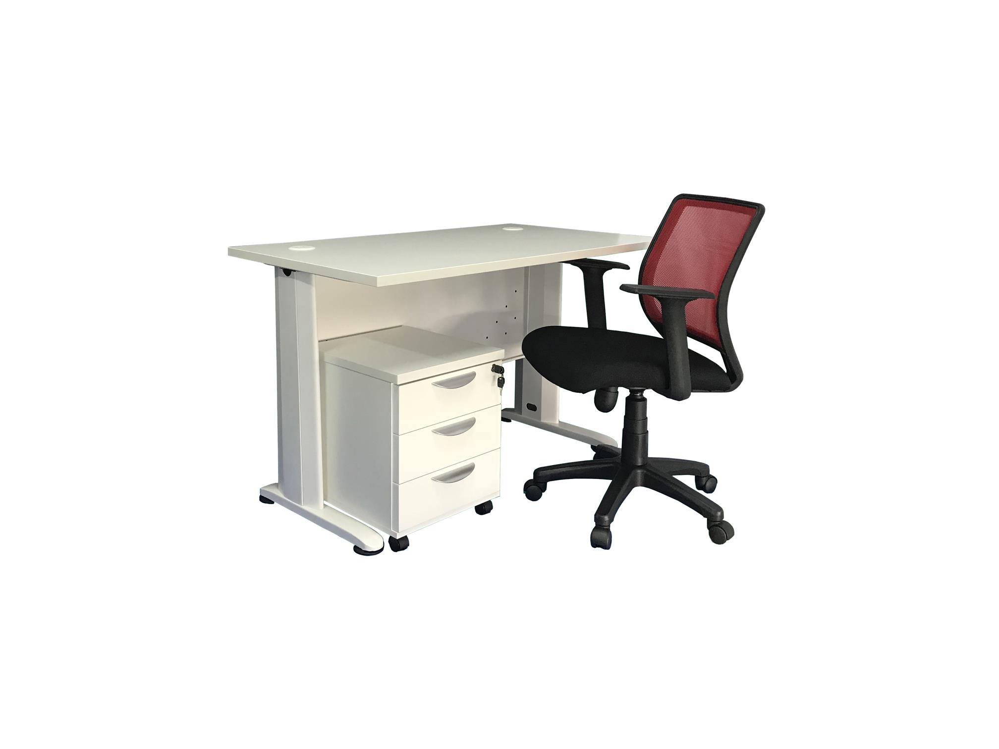 Office Table /Mobile Pedestal /Office Chair P1901-09