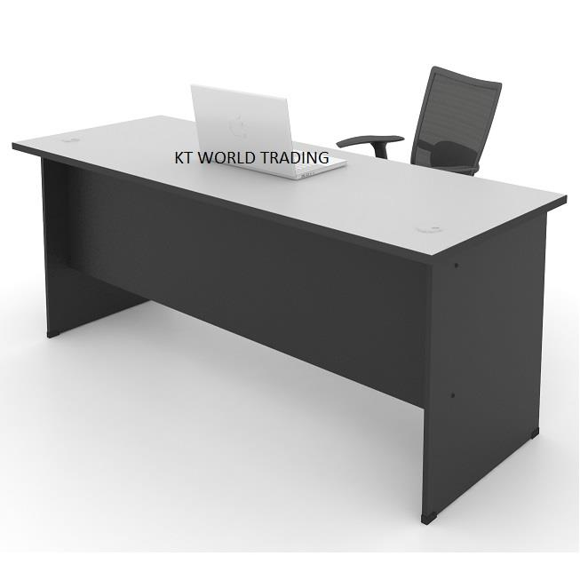 Office Table Furniture Malaysia Writing Model Kt187