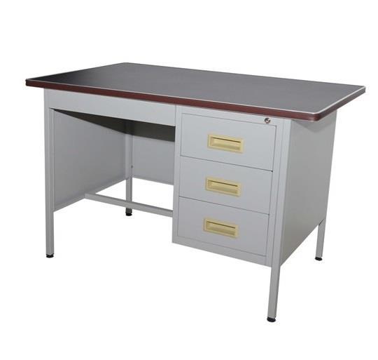 Office Table Writing 4 Single Pedestal Desk Model S102 Lt