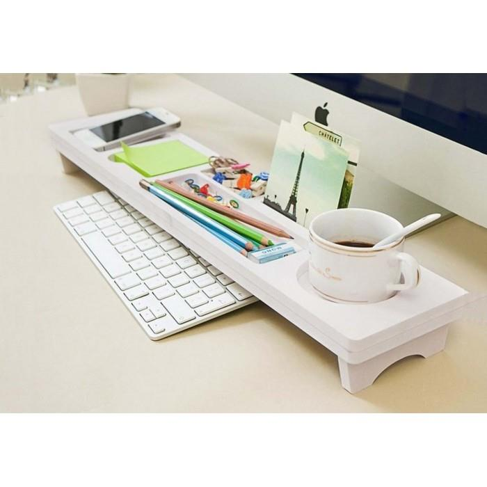 OFFICE TIDY MULTIFUNCTION DESKTOP STORAGE RACK DESK ORGANIZER HOLDER