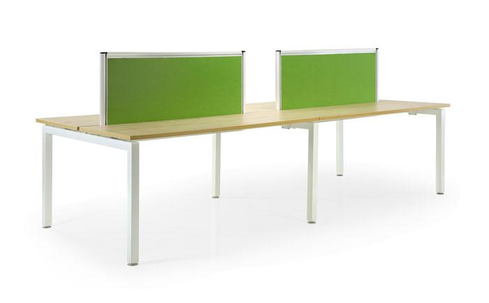 Office Workstation Table for 4 Pax