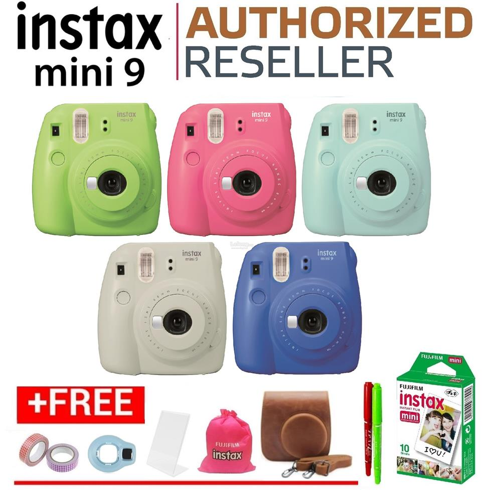 Official fujifilm instax mini 9 ins end 6 8 2018 1 21 am for Housse instax mini 9
