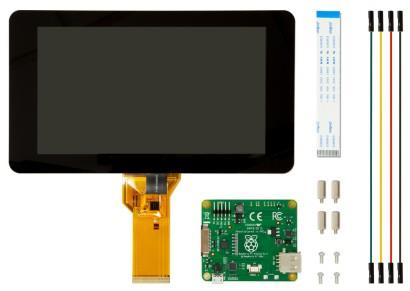 Official Raspberry Pi Capacitive 7-inch Touchscreen LCD (free stand)