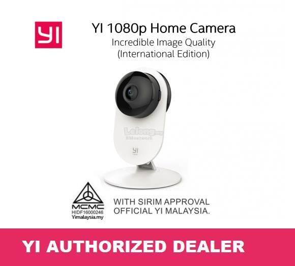 Official XiaoYi Yi Home 1080P WiFi IP Camera CCTV Night Version